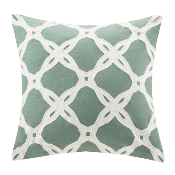 HH Arabesque 16'' x 16'' Throw Pillow