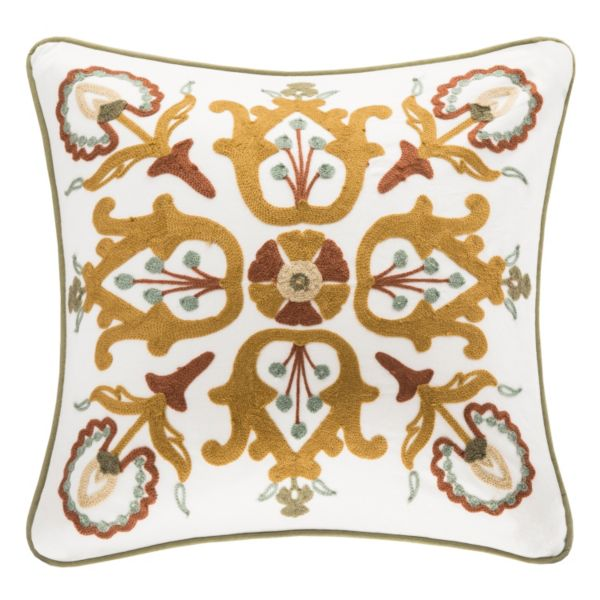 HH Arabesque 18'' x 18'' Throw Pillow