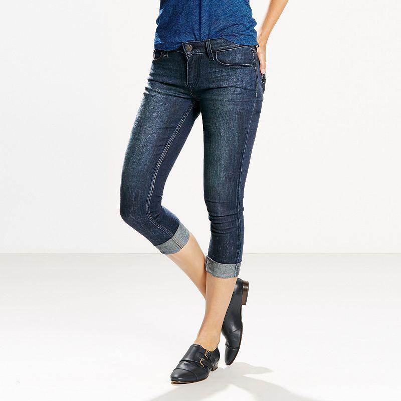 Women's Levi's 535 Super Skinny Crop Denim Leggings