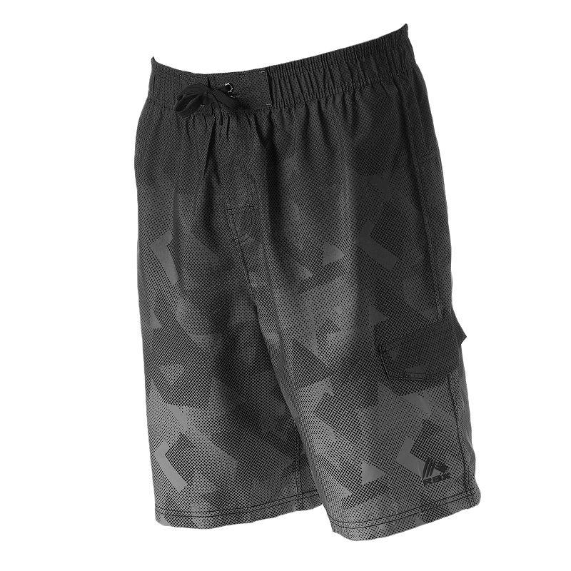Men's RBX Geometric Swim Shorts