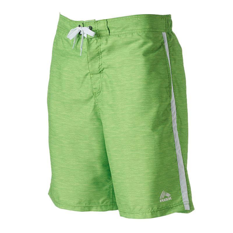Men's RBX Side-Striped Swim Shorts