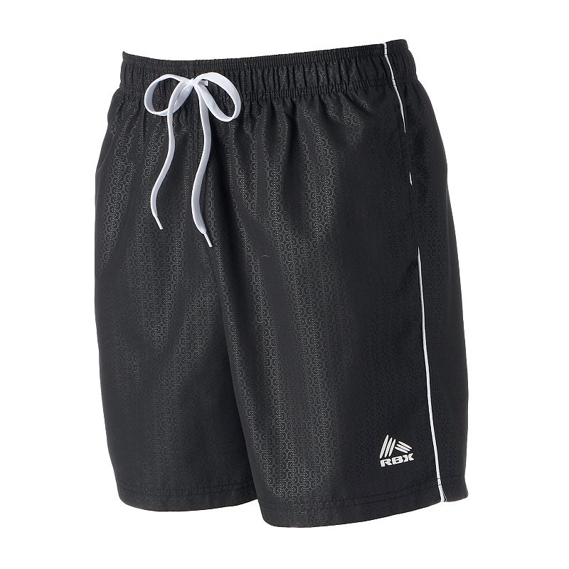 Men's RBX Embossed Print Board Shorts