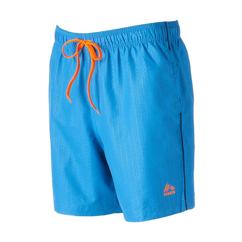 Men's RBX Embossed Print Board Shorts