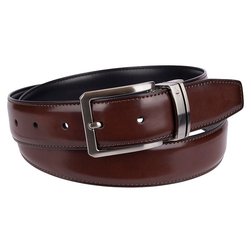 Men's Dockers Feather-Edge Stitched Reversible Belt