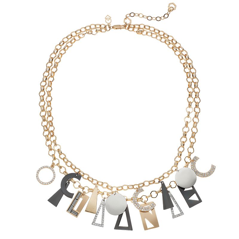 COCO LANE Charm Multistrand Necklace