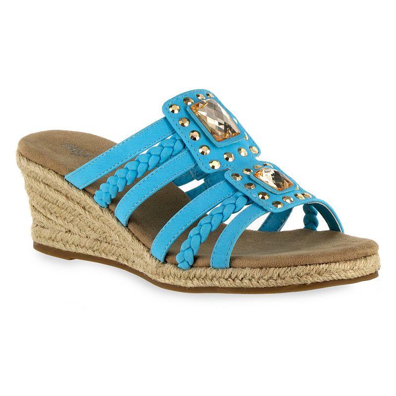 Easy Street Bazinga Women's Wedge Sandals