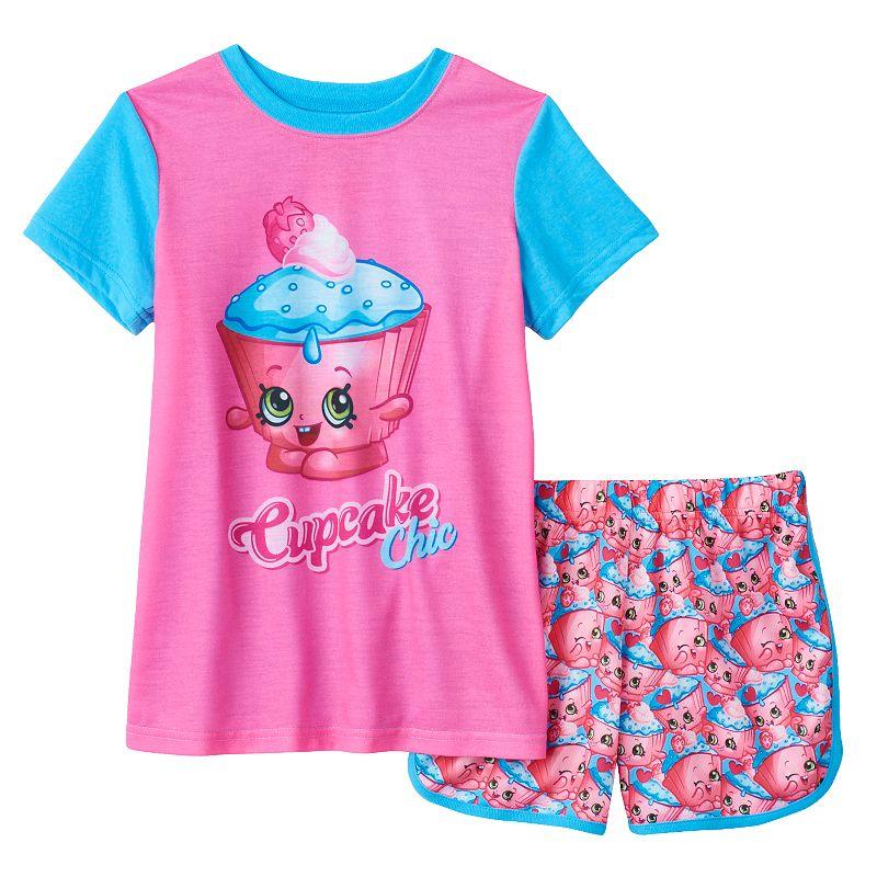 Girls 4-12 Shopkins Cupcake Chic Pajama Set