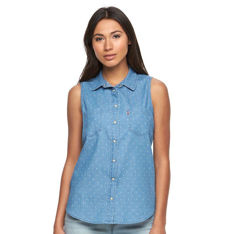 Women's Levi's Star Denim Shirt