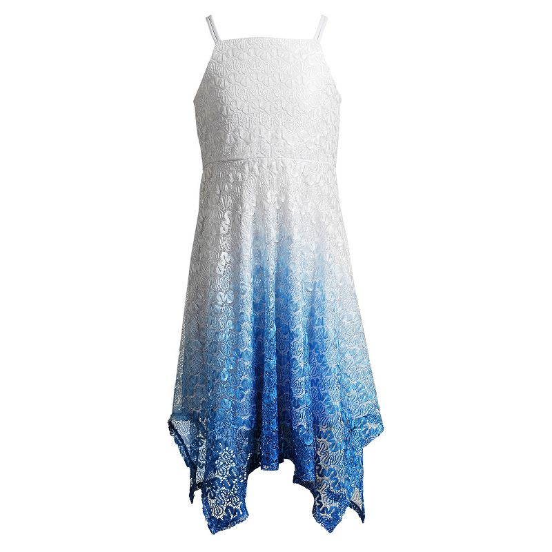 Girls 7-16 Emily West Ombre Lace Dress