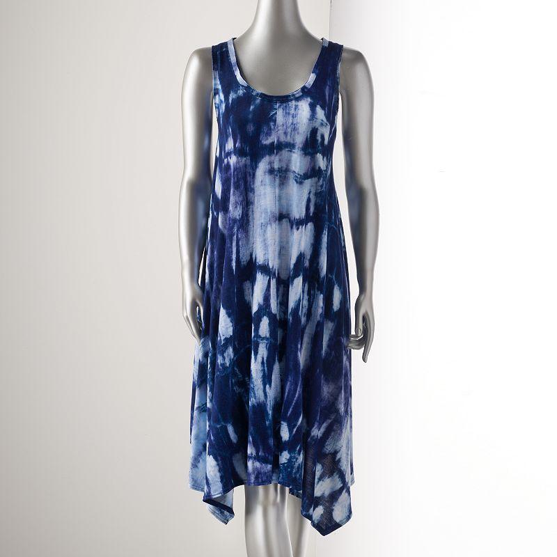 Petite Simply Vera Vera Wang Print Shift Dress