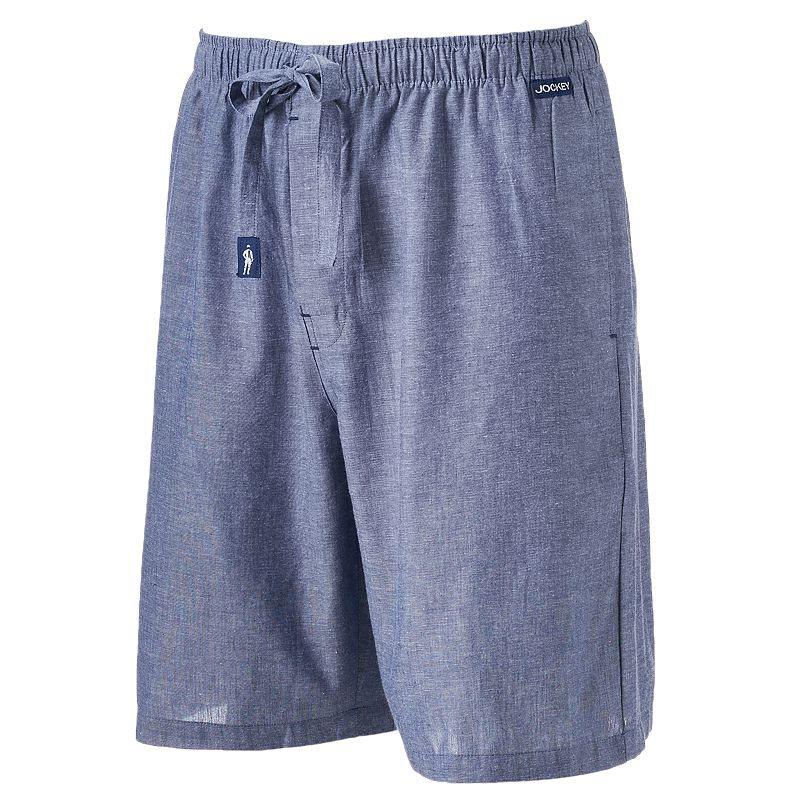 Men's Jockey Chambray Yarn-Dyed Jam Shorts