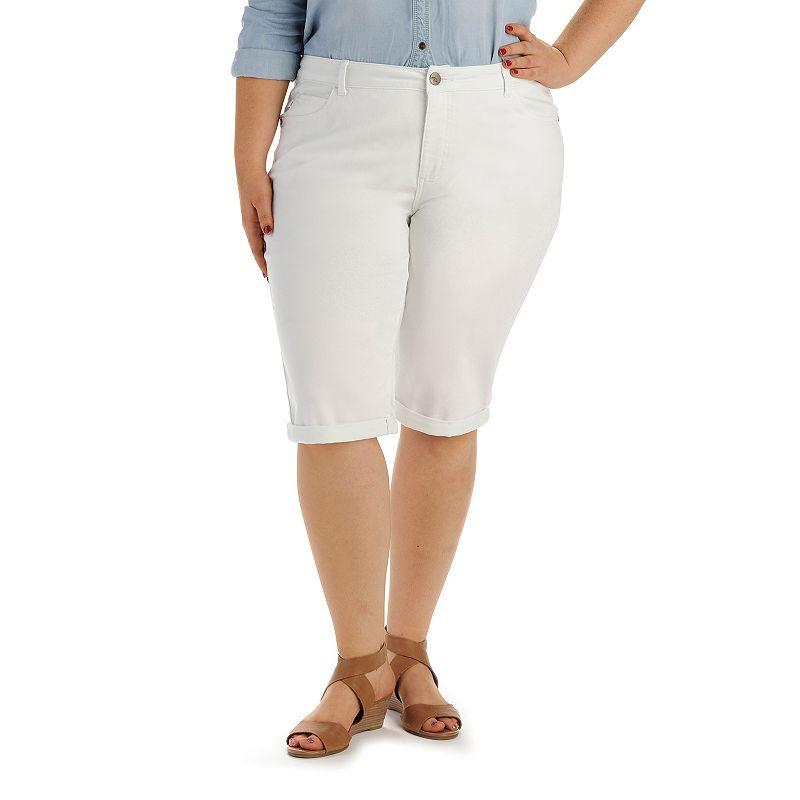 Plus Size Lee Stella Skimmer Capris