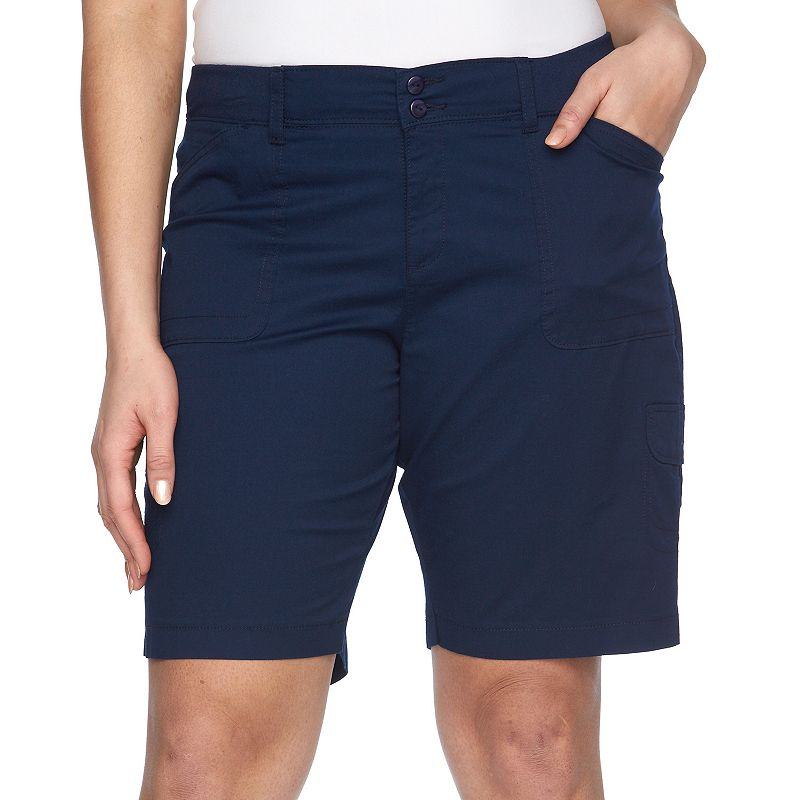 Plus Size Lee Avey Relaxed Fit Bermuda Shorts