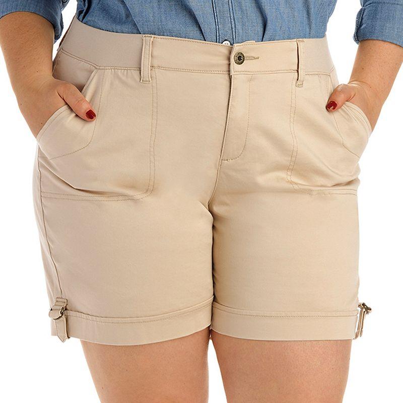 Plus Size Lee Nikita Cuffed Shorts