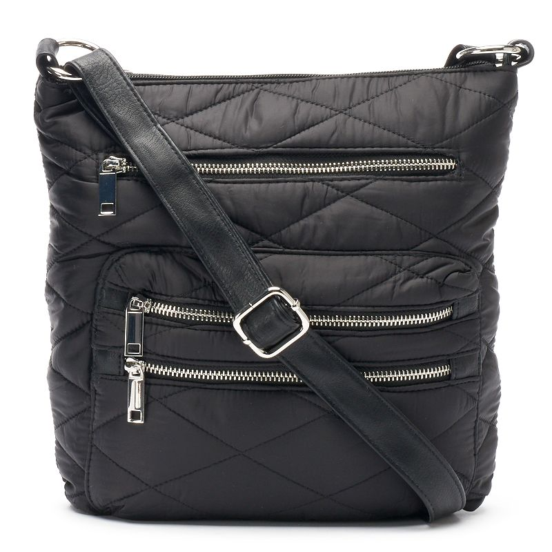 Dolce Girl Rosa Quilted Crossbody Bag