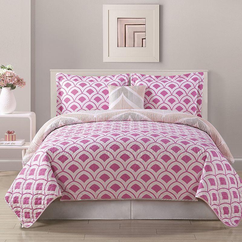 Bed Threads Fine Line Quilt Set