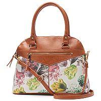 Dolce Girl Candice Floral Convertible Domed Shoulder Bag