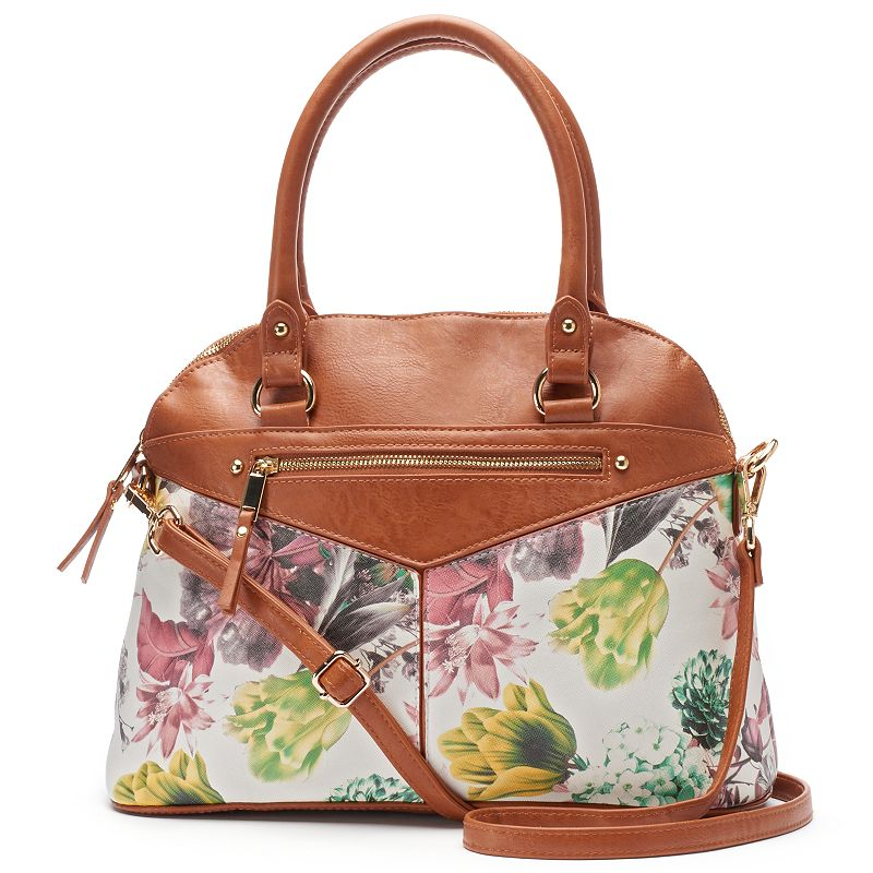 Dolce Girl Candice Floral Convertible Domed Shoulder Bag
