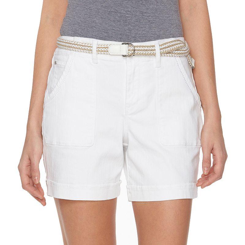 Women's Gloria Vanderbilt Milah Cuffed Jean Shorts