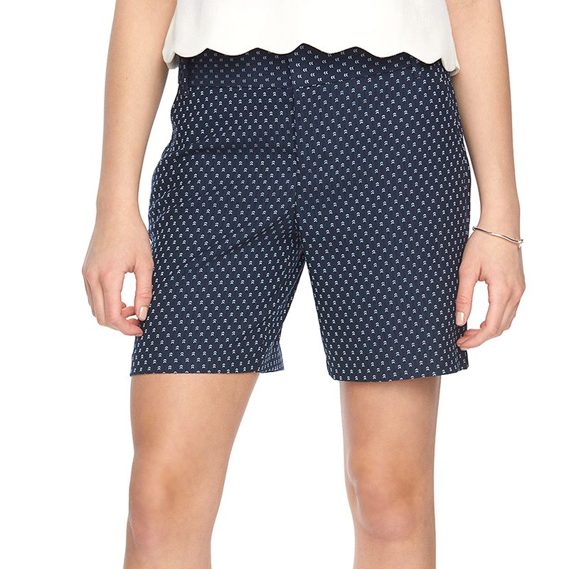 Women's ELLE™ Arrow Jacquard Shorts