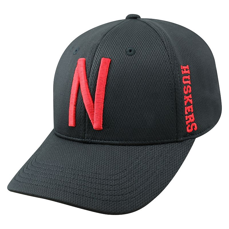 Adult Top of the World Nebraska Cornhuskers Booster One-Fit Cap