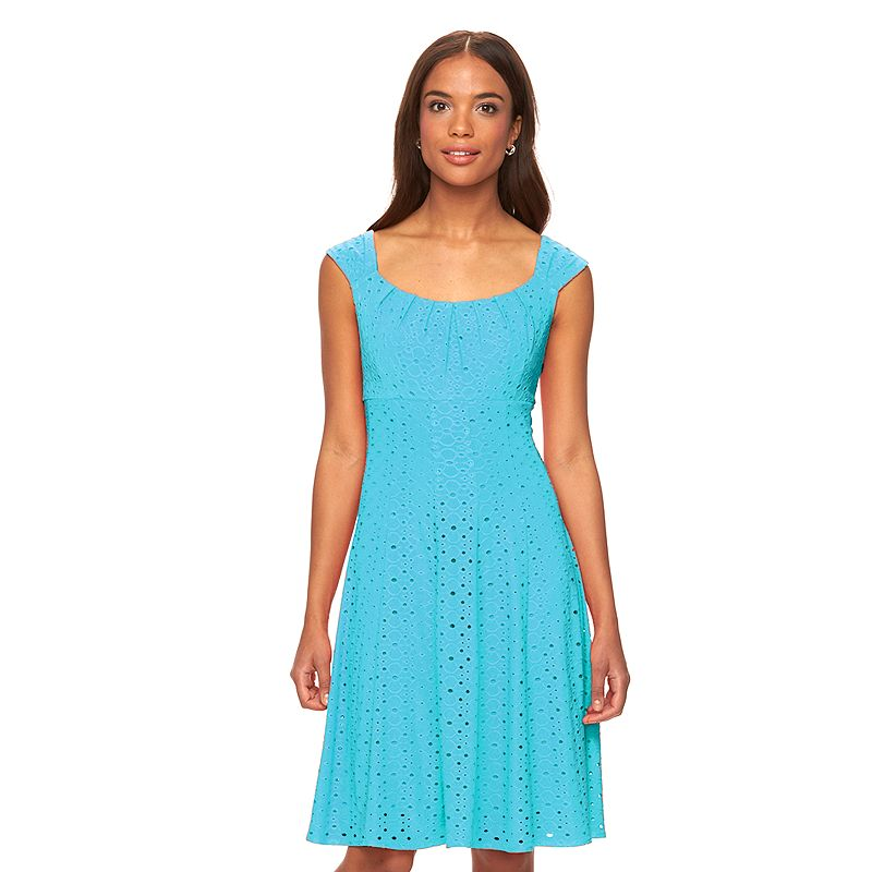 Women's Suite 7 Eyelet Empire Dress