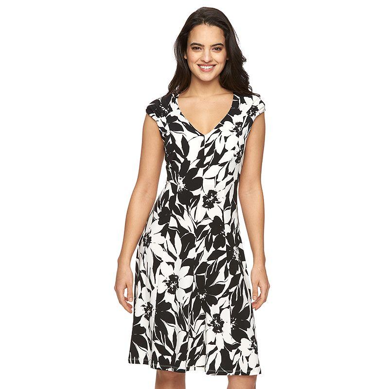 Women's Suite 7 Floral A-Line Dress
