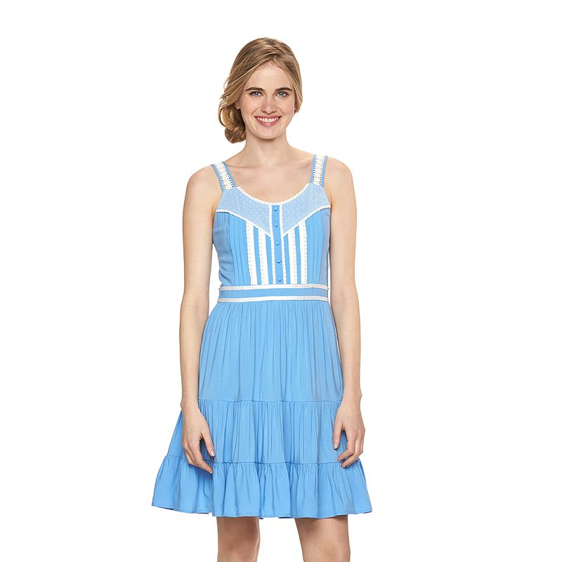 Disney's Alice In Wonderland a Collection by LC Lauren Conrad Fit & Flare Dress - Women's