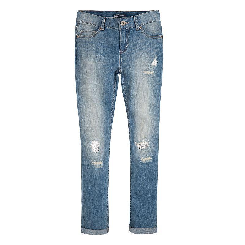 Girls 7-16 Levi's Destructed Boyfriend Skinny Jeans