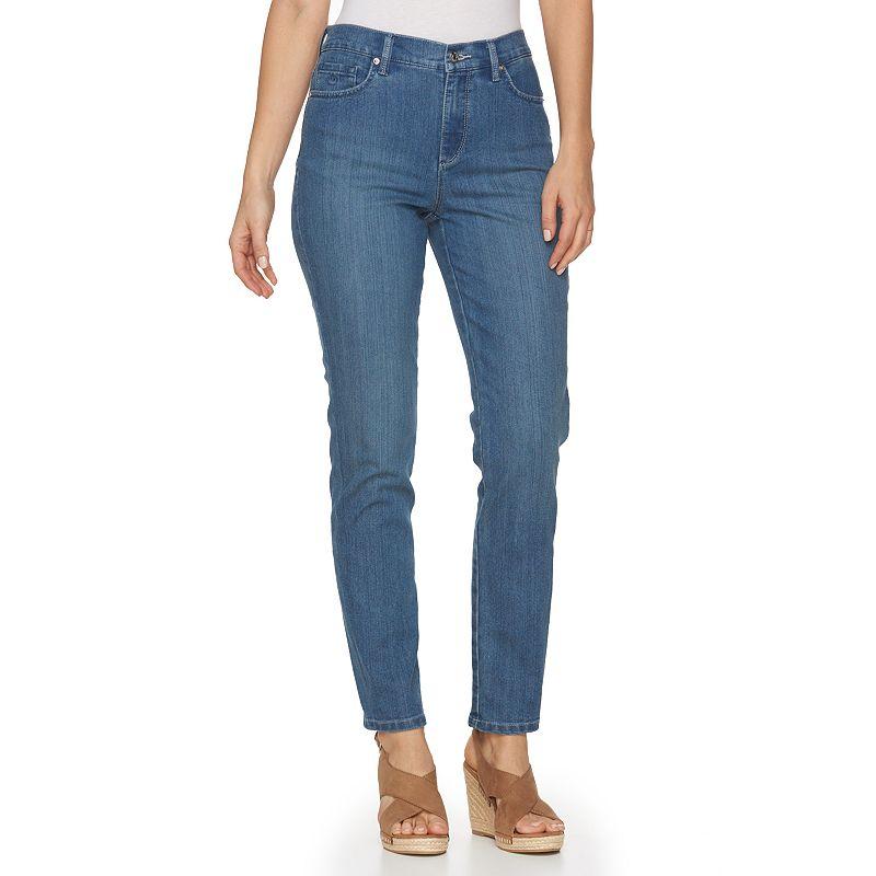 Women's Gloria Vanderbilt Amanda Classic Fit Embellished Tapered Jeans