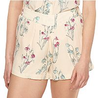Disney's Alice In Wonderland a Collection by LC Lauren Conrad Pleated Soft Shorts - Women's