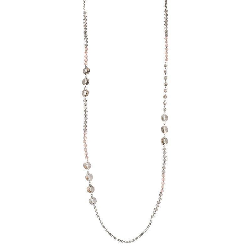 Simply Vera Vera Wang Long Beaded Necklace