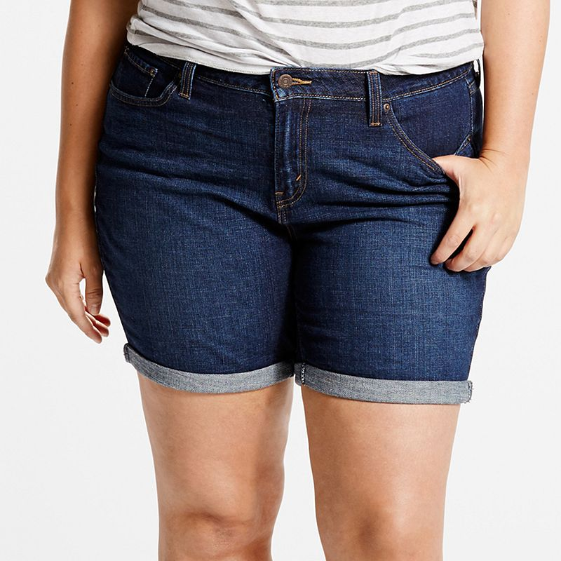 Plus Size Levi's Relaxed Fit Jean Shorts