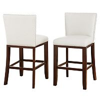 Branton Home Tiffany Counter Chair 2-piece Set