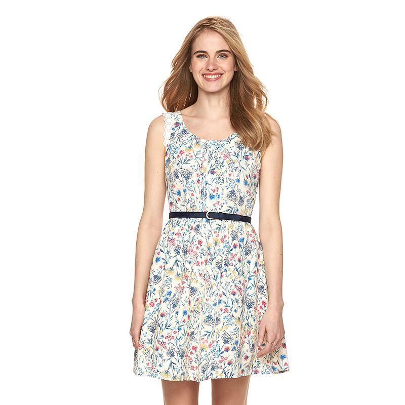 Women's LC Lauren Conrad Floral A-Line Dress