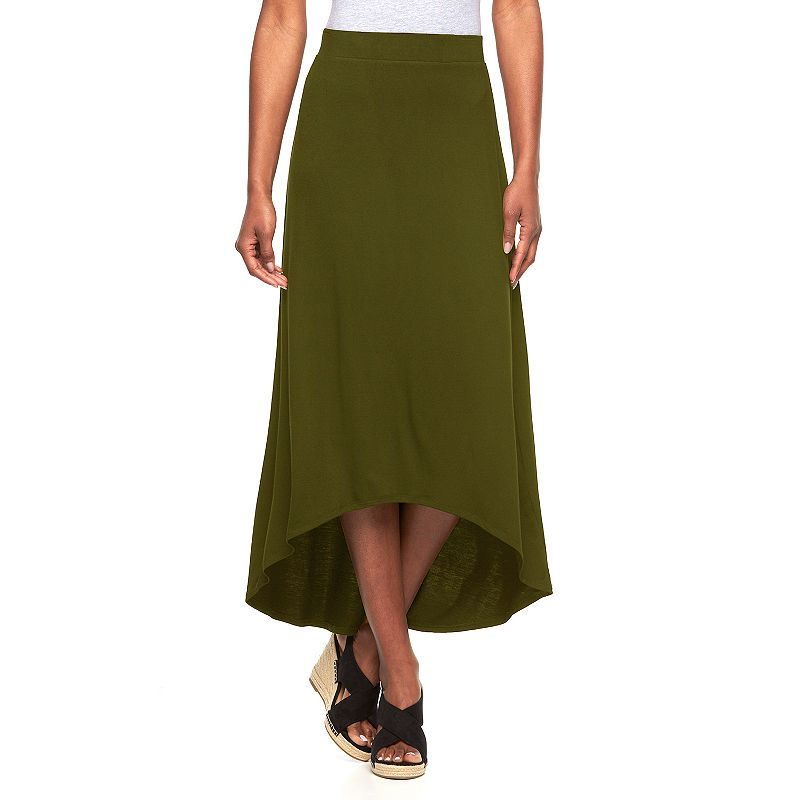 Women's Apt. 9® High-Low Maxi Skirt