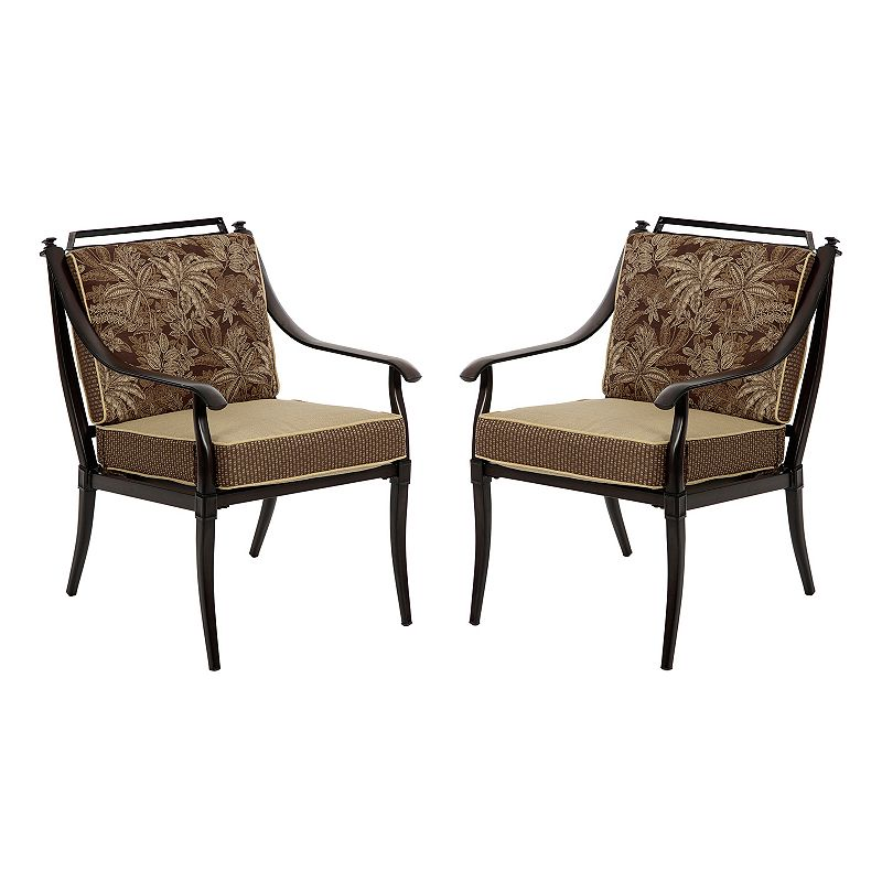 Bombay Outdoors Normandy Dining Arm Chair 4-piece Set