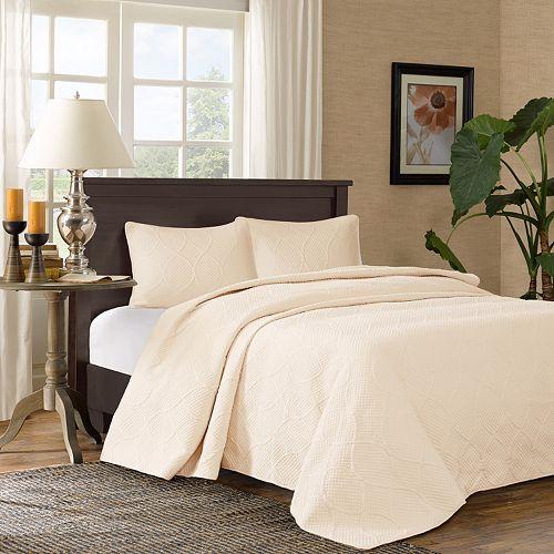 Madison Park Adelle 3 Piece Bedspread Set