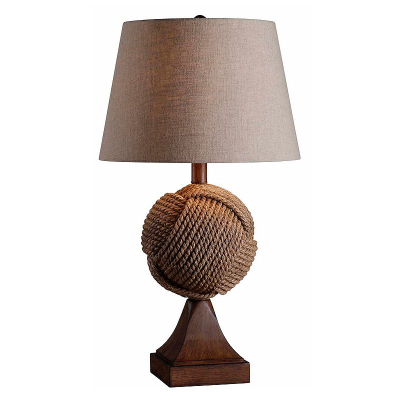 Distressed Table Lamp
