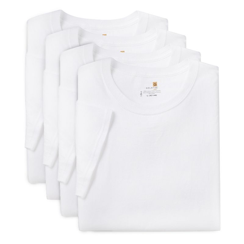Men's GOLDTOE 4-pack Performance Crewneck Tees