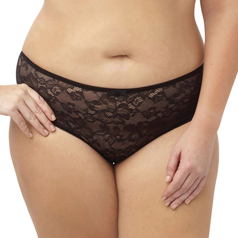 Sculptresse by Panache Floral Lace High-Waist Brief 6932