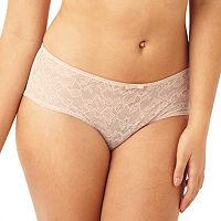 Sculptresse by Panache Floral Lace High-Waist Boyshort Panty 6934