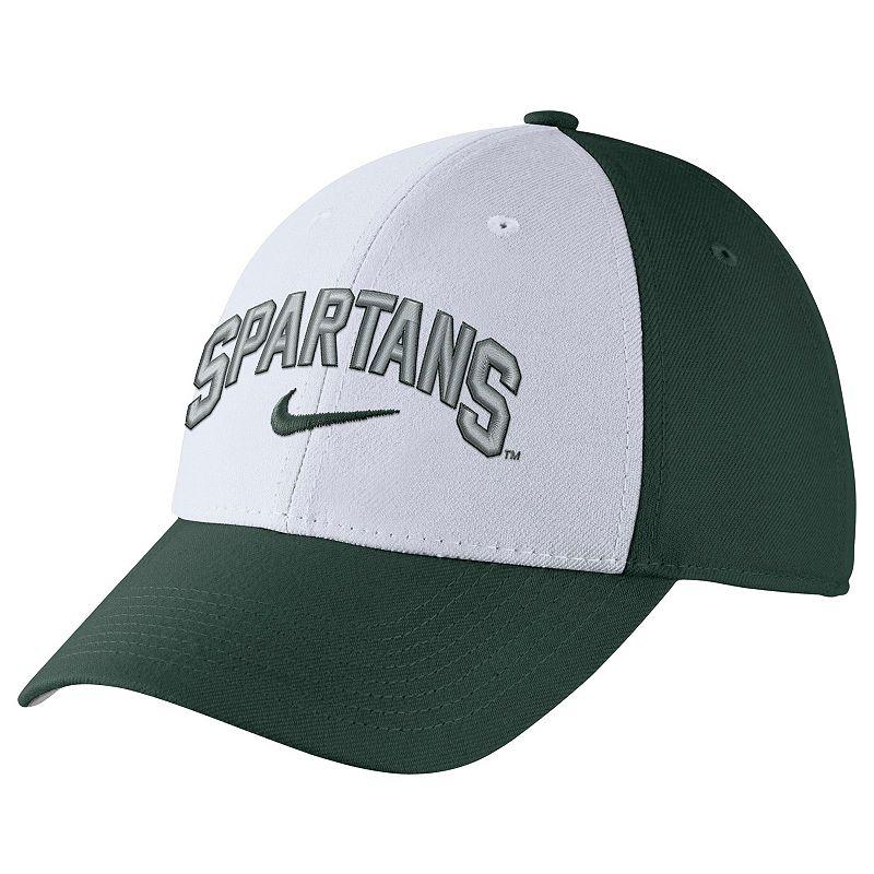 Adult Nike Michigan State Spartans Verbiage Flex Cap