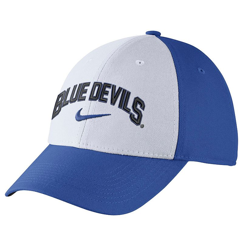 Adult Nike Duke Blue Devils Verbiage Flex Cap
