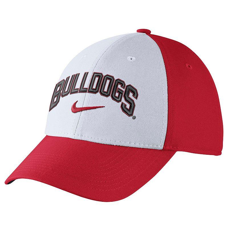 Adult Nike Georgia Bulldogs Verbiage Flex Cap