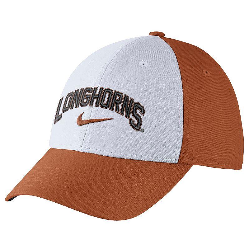 Adult Nike Texas Longhorns Verbiage Flex Cap