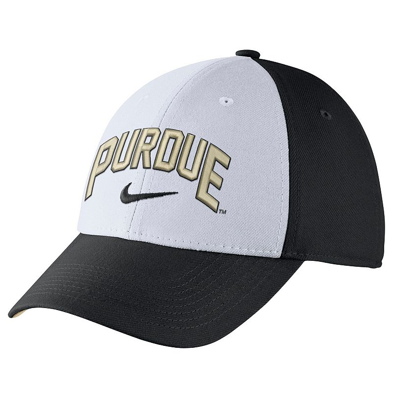 Adult Nike Purdue Boilermakers Verbiage Flex Cap