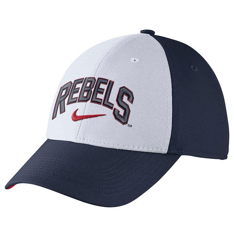 Adult Nike Ole Miss Rebels Verbiage Flex Cap