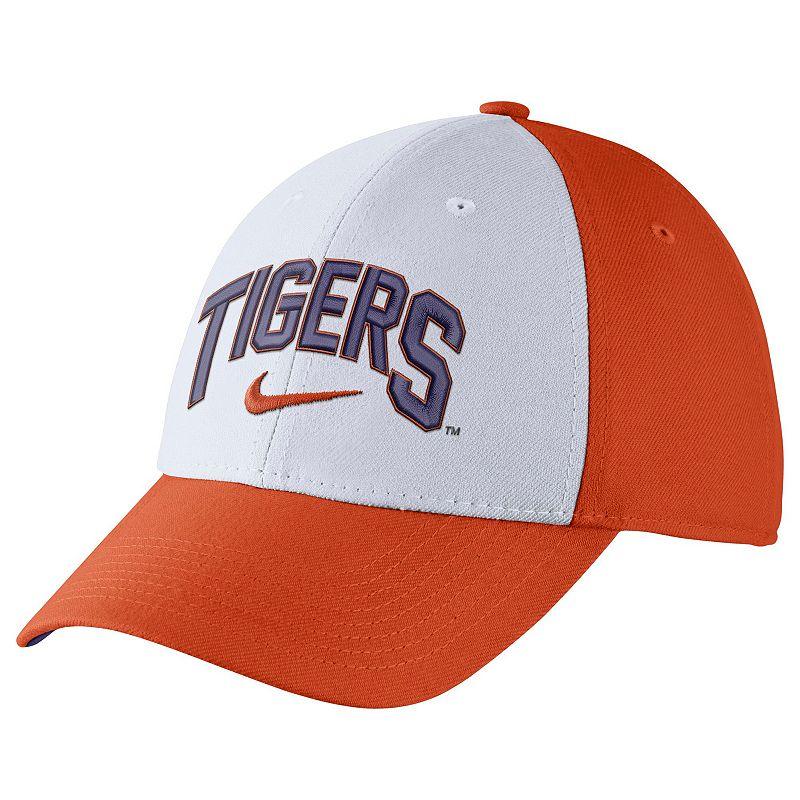 Adult Nike Clemson Tigers Verbiage Flex Cap