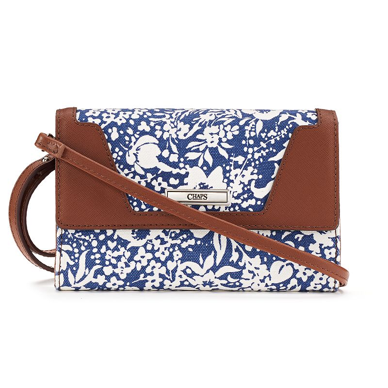 Chaps Margo Patterned Convertible Wristlet